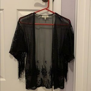 Lace/See Through Cardigan